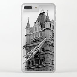 London ... Tower Bridge I Clear iPhone Case