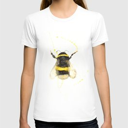 ORIGINAL WATECOLOR BUMBLE BEE T-shirt