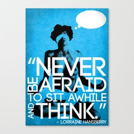 Never Be Afraid (R-Rated) Canvas Print