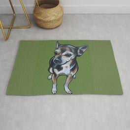 Artie the Chihuahua Rug