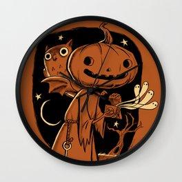 Hallowe'en Box Wall Clock