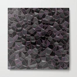 Anthracite Metal Print