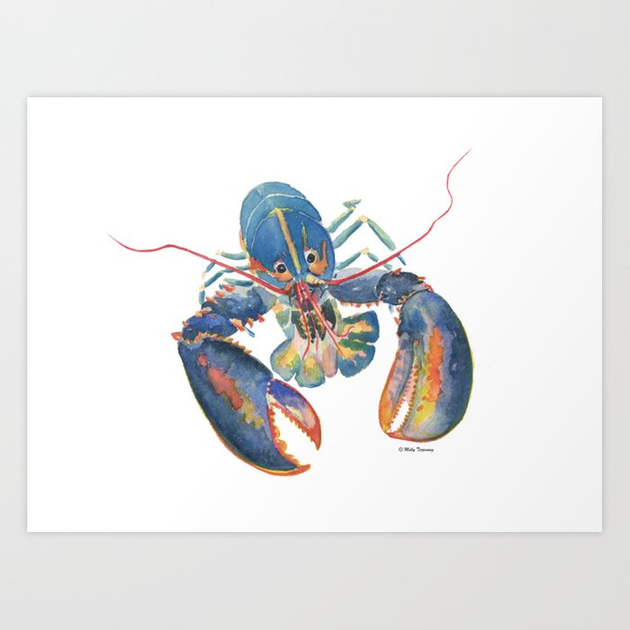 Sea Lobster Art Print