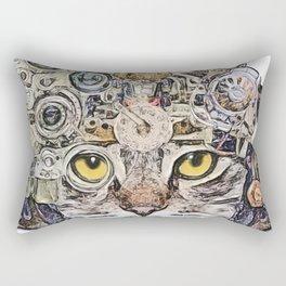 Sci Fi Cat Rectangular Pillow