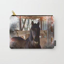 Rustic Horse Carry-All Pouch