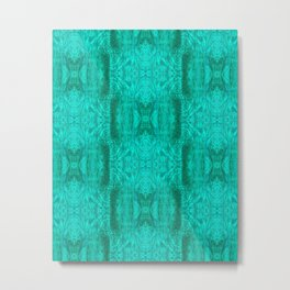 treeangles Pattern Metal Print