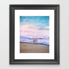 Beach Ball - Hawaiian Sunset Beach Framed Art Print