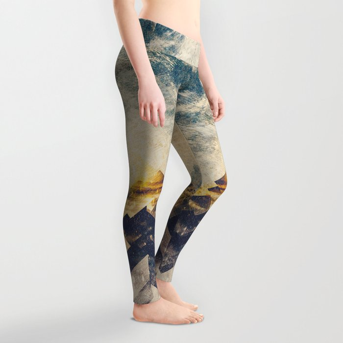 One mountain at a time Leggings
