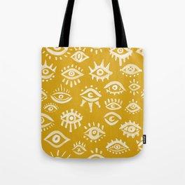 Mystic Eyes – Marigold Palette Tote Bag