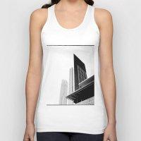buildings Tank Tops featuring City Buildings by Ewan Arnolda