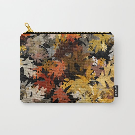 Oak Leaf Abstract Carry-All Pouch