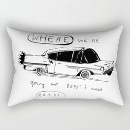 OFF TO BROOKLYN Rectangular Pillow