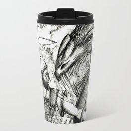 Perseus fighting the sea monster Travel Mug
