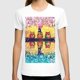 gorgeous owl-266 T-shirt