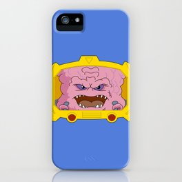 Portrait of KRANG! iPhone Case