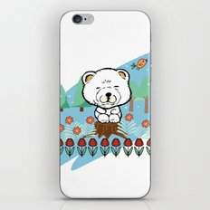 Chow Chow in the forest iPhone Skin