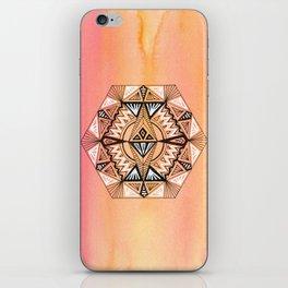 Geometric Hexagon 2 iPhone Skin