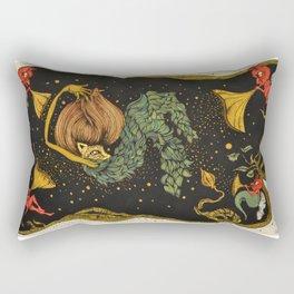 Nightmare Beckon Rectangular Pillow