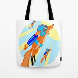 Rocket Fox Brigade Tote Bag