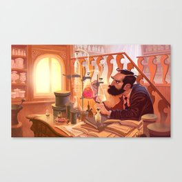 The Chemist Canvas Print