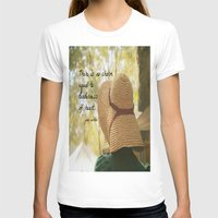 jane austen T-shirts featuring There is No Charm Jane Austen  quote by KimberosePhotography