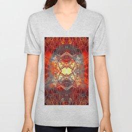 Spontaneous human combustion Unisex V-Neck