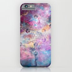 Watercolor and nebula sacred geometry  Slim Case iPhone 6s