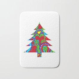 TRENDY CHRISTMAS TREE Bath Mat