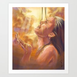 Soaking in Glory Art Print