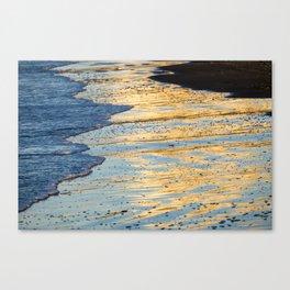 Golden Morning Reflection Canvas Print