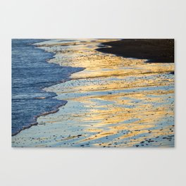 Golden Morning Reflection Canvas Print