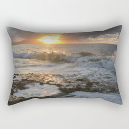 Sunset in the Dominican Republic Rectangular Pillow