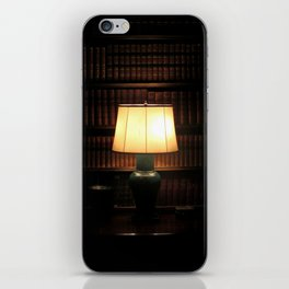 library, please hush iPhone Skin