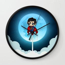 Flying Around The World Wall Clock