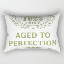 Green-Vintage-Limited-1922-Edition---95th-Birthday-Gift Rectangular Pillow