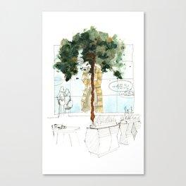 Syberia Mall Canvas Print