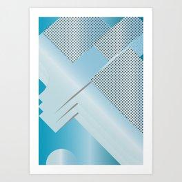 Geometric Calendar - Day 22 Art Print