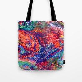 Rainbow Lava Tote Bag