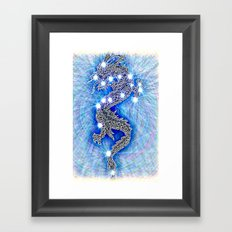 Dragon-constellation series Framed Art Print