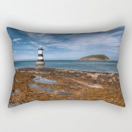 Penmon Point Lighthouse Rectangular Pillow