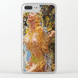Psychotropic Veil Clear iPhone Case