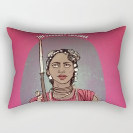 The Dahomey Amazons Rectangular Pillow