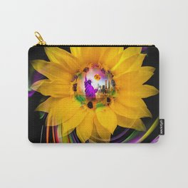 New York NYC - Statue of Liberty - sunrise Carry-All Pouch