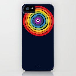 Bulls Eye  to love iPhone Case