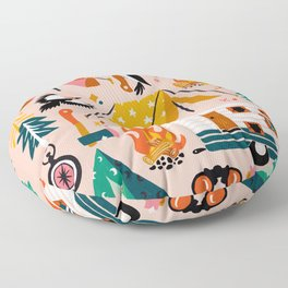 Camping Kit – Blush Palette Floor Pillow