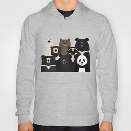 Bear family portrait Hoody