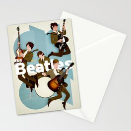 The Fab Four Stationery Cards