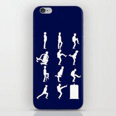 The TARDIS of Silly Walks iPhone & iPod Skin