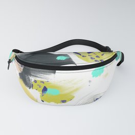 Brush strokes of abstract strokes Fanny Pack