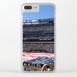 Jet's home opener - National Anthem Clear iPhone Case